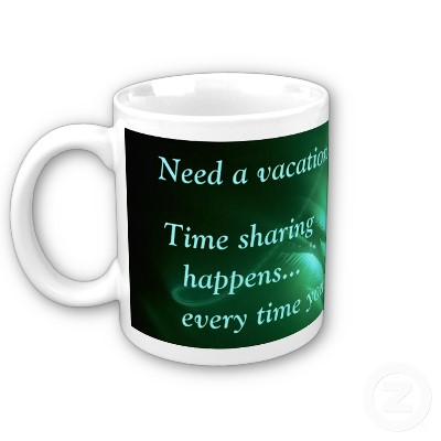 Vacation Time Sharing Mug