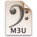 m3u  icon